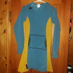 Womens Melanzana Micro Grid Dress